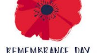 Remembrance Day Assembly/Celebration of Learning in the gym at 10:45 am. Parents are welcome.